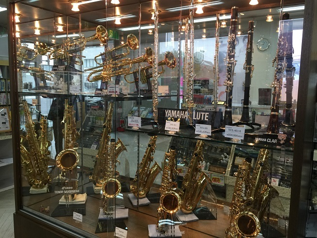 管楽器コーナー